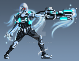 Mr. Freeze by ADL-art