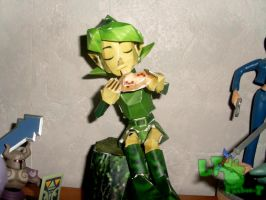 My Saria papercraft 1 by LeTourbillonEnchanT