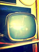 vintage television by lydkid