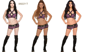 Paige - Ariana Grande - Selena Gomez  creation PNG by breezy-7