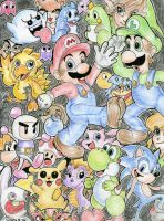:Nintendo stars and many more: by Grethe--B
