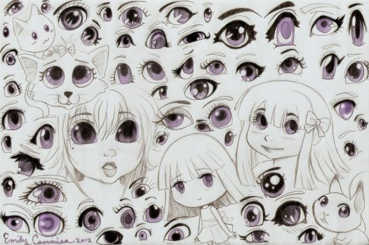 Many Kinds of Eyes by EmilyCammisa