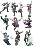 DTK Action Poses Collage1 by Rinkuchan27