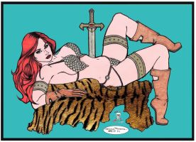 Red Sonja by CDL113