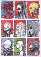 SW Galaxy 6 05 Sketch cards by Hodges-Art