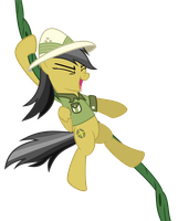 [Request] Daring Do swinging by HankOfficer