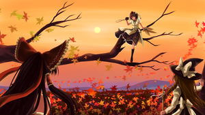 Autumnal Encounter by kishinmask
