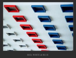 Red, White n Blue by MarcWasHere