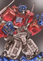 Optimus Prime by carrie-lewis