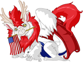 Happy 4th of July Everybody~! by HigginstheAwesome