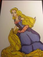 Morning Glory Rapunzel by 1angel0wings1
