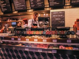 Kings Cross Coffee Shop by daliscar