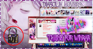 Tema para WinRar Diabolik Lovers(Theme For WinRar) by SynysterGirlKltz