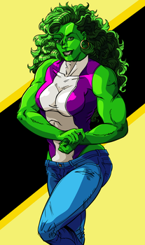 The Sensational She-Hulk by Empty-Brooke