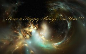 Happy Shiny New Year!!!! by Casperium