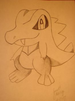 totodile by CheerBear25