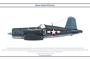 F4U-1A USA VF-17 5 by WS-Clave