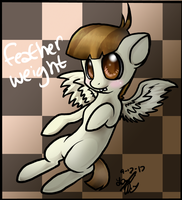Feather Weight Chibi by Freeze-pop88