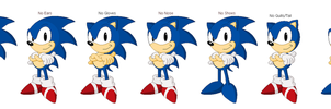 Classic Sonic bases by juanito316ss