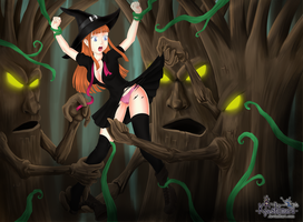 Witch in Troubles POST 1 by Kyeshimaru