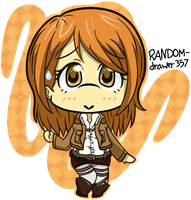 Chibi Petra by RANDOM-drawer357