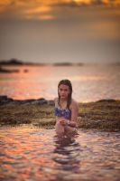 Girl in water by CamilleNelson