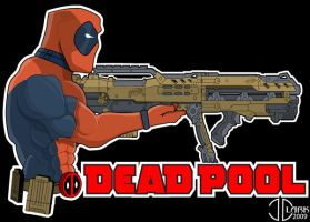 DeadPool Nerf Wars by NUBSKULL