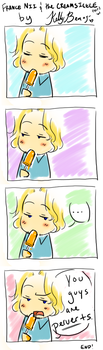 APH: Creamsicle by kelly--bean