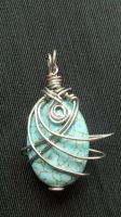 Turquoise Pendent by LittleDeadMuffin