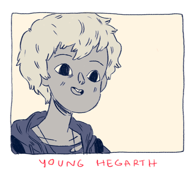 Young Hegarth by HannaKN