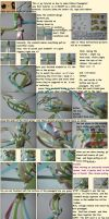 Ribbon Pineapple Tutorial by starrelly-chan
