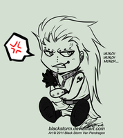 FT: Chibi Gajeel by blackstorm