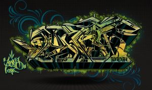KTN graff by KTN-UNO