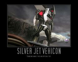 Transformers: Prime Silver Jet Vehicon by Onikage108
