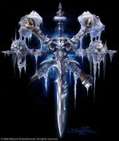 Warcraft - Icon of the Lich King by SamwiseDidier