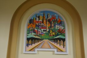 Morristown Station Mural 1 by uglygosling