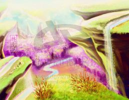 SOLD! Purple valley by art-adoption