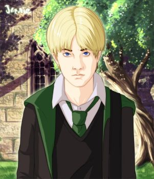 Commission: Draco malfoy by GaaraJamiE88