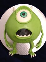 Monsters Inc. Cake by ginas-cakes