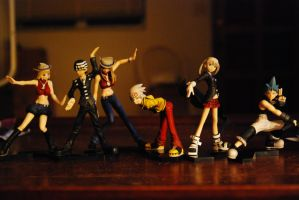 My Soul Eater Collection by dimensioncr8r