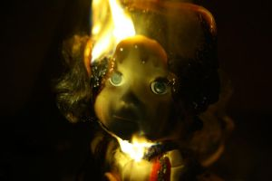 burning doll4 by Evel88