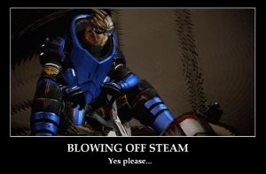 Garrus Steam Poster by TalesofTears