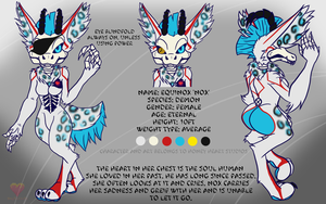 Equinox reference sheet by HoneyHeartStudios