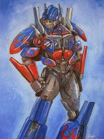 Movie Optimus Prime 2 by J-666