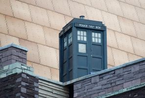 TARDIS up close by The-Rover