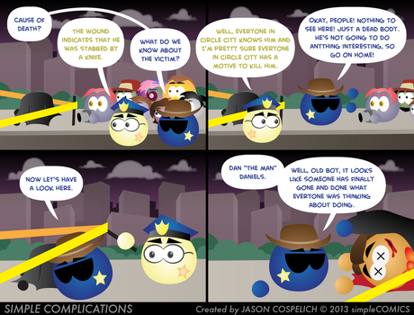 SC587 - Murder in Circle City 2 by simpleCOMICS