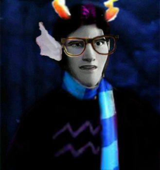 Hans as Eridan by Sweet-racer