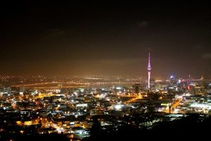 Auckland by Night by widexpillow