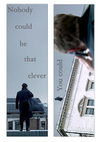 Sherlock Double-Sided Bookmark 1 by Rosterlu