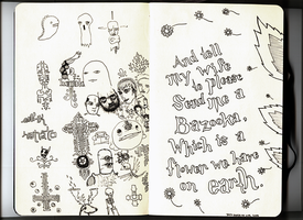 Small sketchbook p.2-3 by Hemato